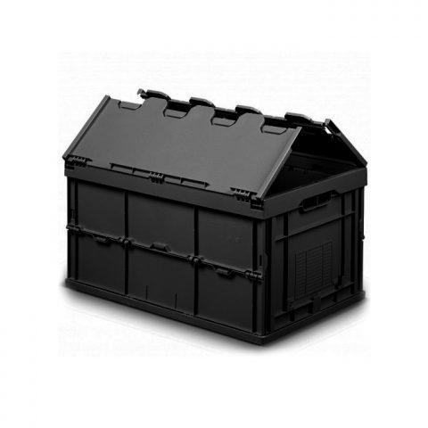 Caja plegable conductiva