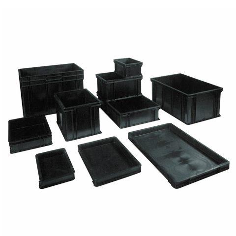Cajas conductivas para palets