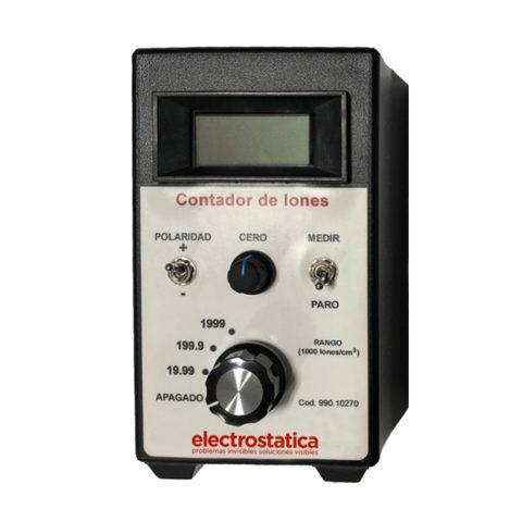 Contador de iones aire