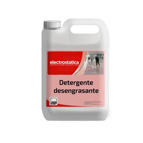 Detergente desengrasante antielectrostático