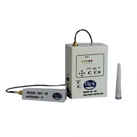 Detector ESD remoto