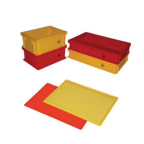 Cajas de colores disipativas