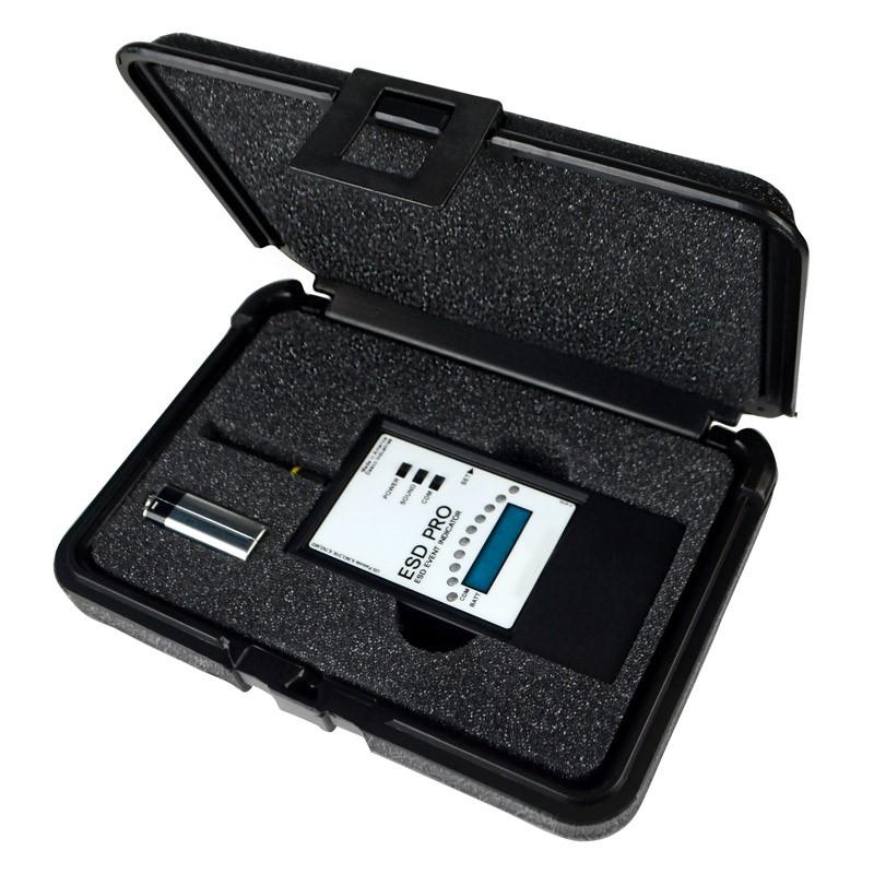 Detector de descargas con indicador 3