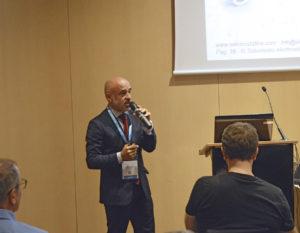 Salvador Massip en su conferencia - Expoquimia 2017