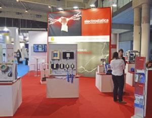 Stand de Electrostatica - Expoquimia 2017