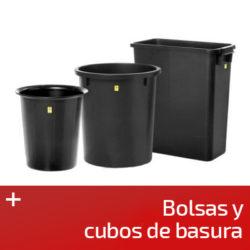 Bolsas y cubos basura