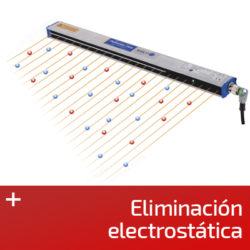 Eliminación electrostática