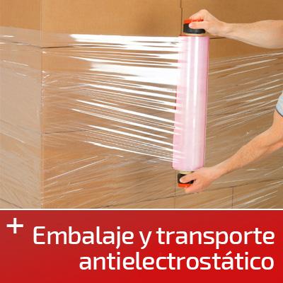 Embalaje y transporte ATEX
