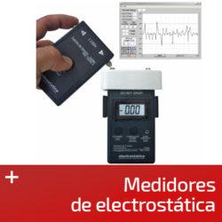 Medidores de electrostática
