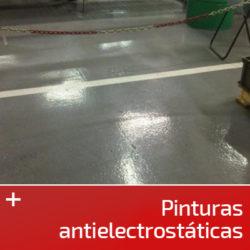 Pinturas antielectrostáticas
