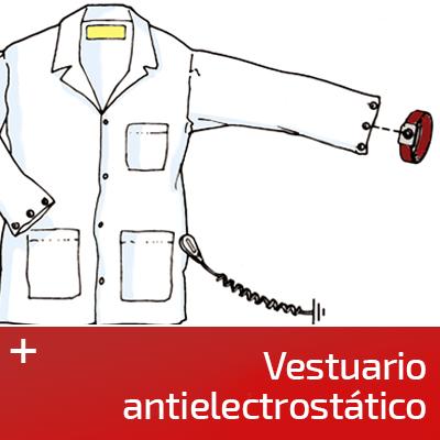 Vestuario antielectrostático ESD